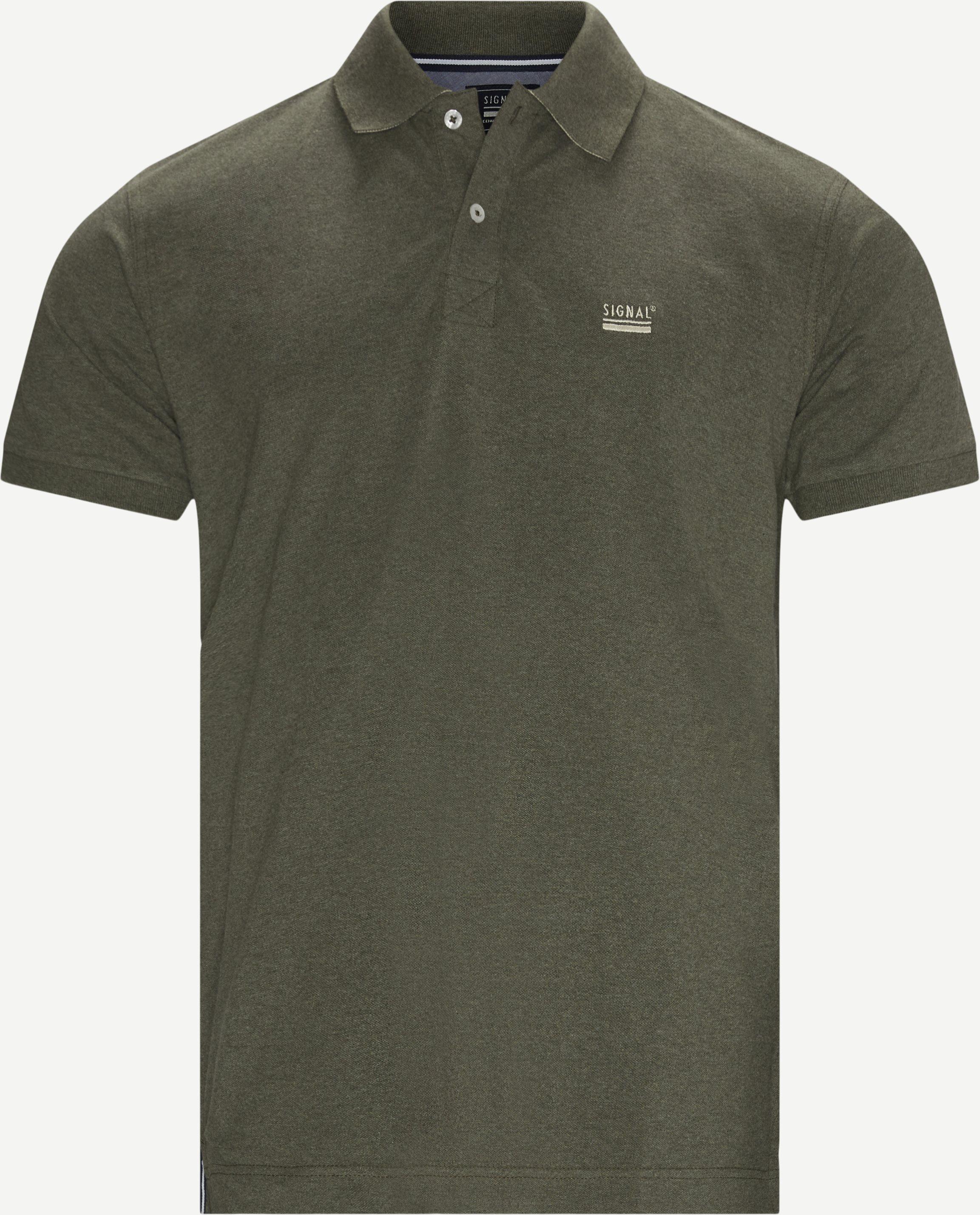 Nors Polo T-shirt - T-shirts - Regular - Army